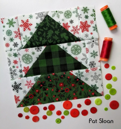 Pat Sloan Block 5 Merry and Bright