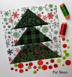 Pat Sloan Block 5 Merry and Bright