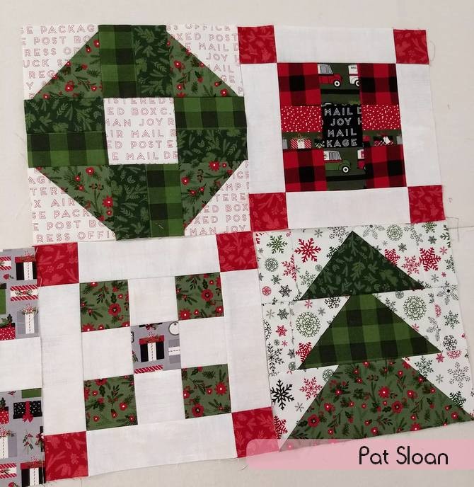 Pat Sloan Merry and Bright layout pic 2