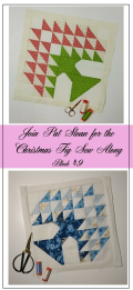 Pat Sloan Figtree Christmas sew along block 10