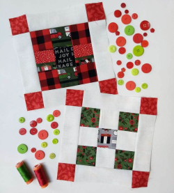 Pat Sloan layout Merry and Bright