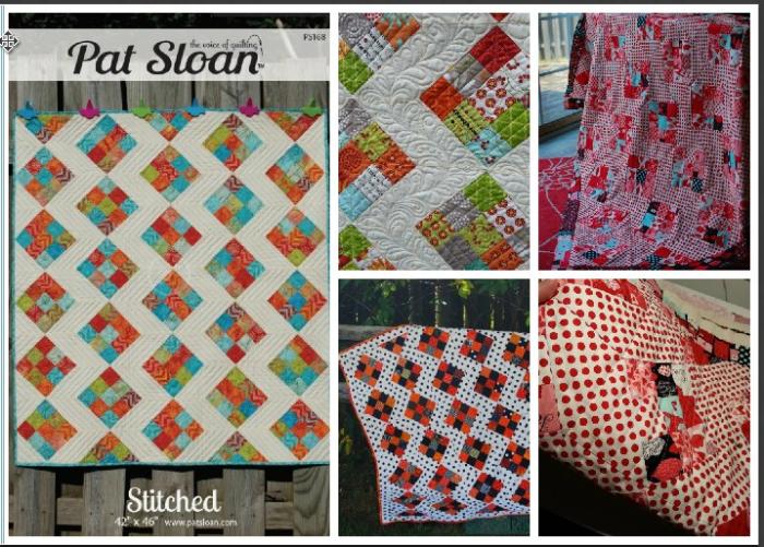 Pat sloan stitched
