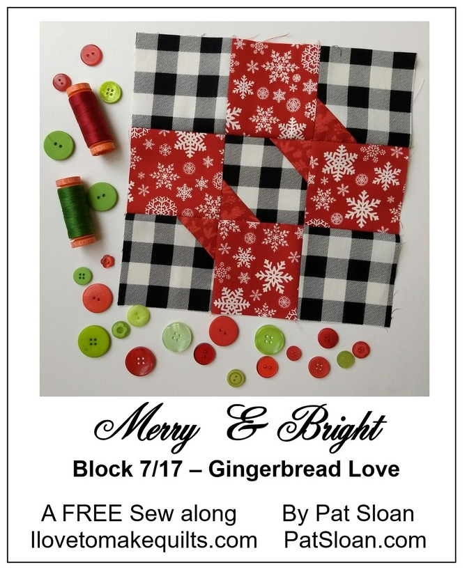 Pat Sloan Block 7 Merry and Bright button