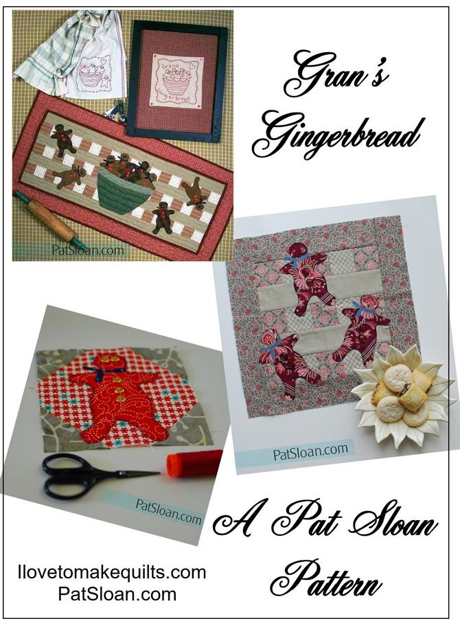 Pat Sloan Gran's Gingerbread