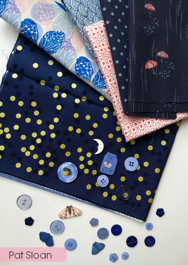 Pat Sloan Button club dream fabric