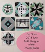 Pat Sloan Aurifl DOM 2018 Block 1 to 7