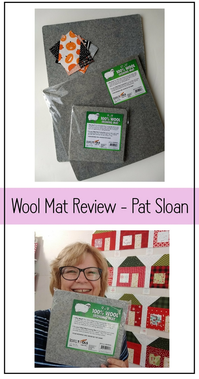 Pat Sloan wool pressing mat review pic 4
