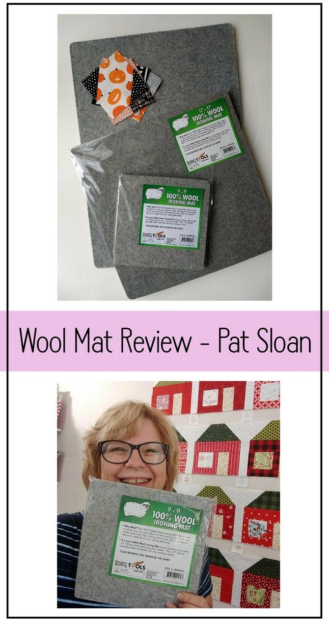 Pat Sloan wool pressing mat review pic 4
