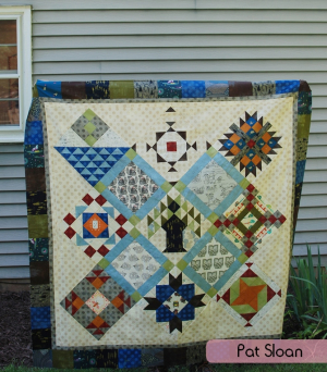Pat Sloan Lets go camping quilt