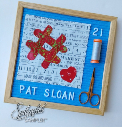 Pat Sloan Splendid Sampler 2 Jane hastag block2