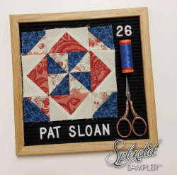 Pat Sloan Splendid Sampler Block 26