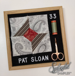 Pat Sloan Splendid Sampler 2 Nancy Zieman
