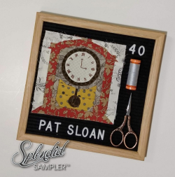 Pat Sloan Splendid Sampler 2 block 40 Kerry