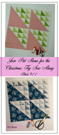 Pat Sloan Figtree Christmas sew along block 11