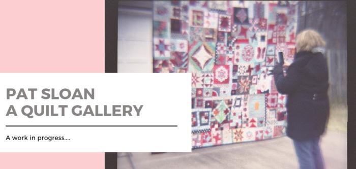 Pat Sloan quilt Gallery header