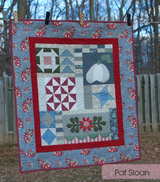 Pat sloan prim quilts and more fall series