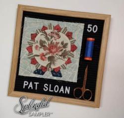 Pat Sloan Splendid Sampler 2 Mellisa Mortenson