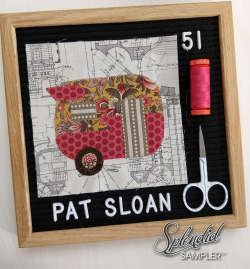 Pat Sloan Splendid Sampler 2 block 51