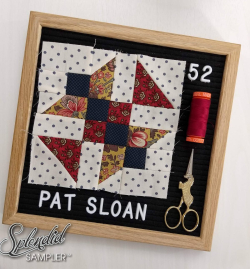Pat Sloan Splendid Sampler 2 block 52