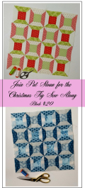 Pat Sloan Figtree Christmas sew along block 20