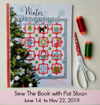 Pat sloan winter wonderland sew the book