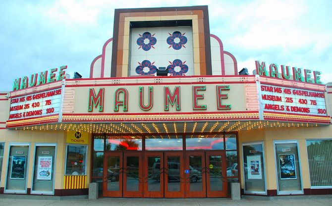 Maumee Ohio theater