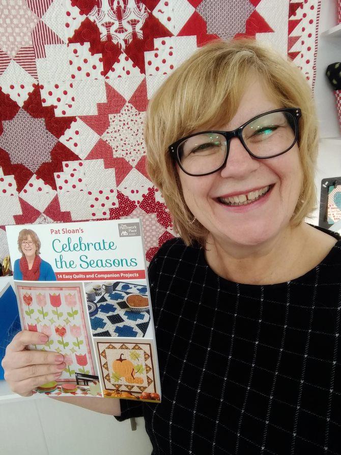 Pat Sloan Seasons Book tour