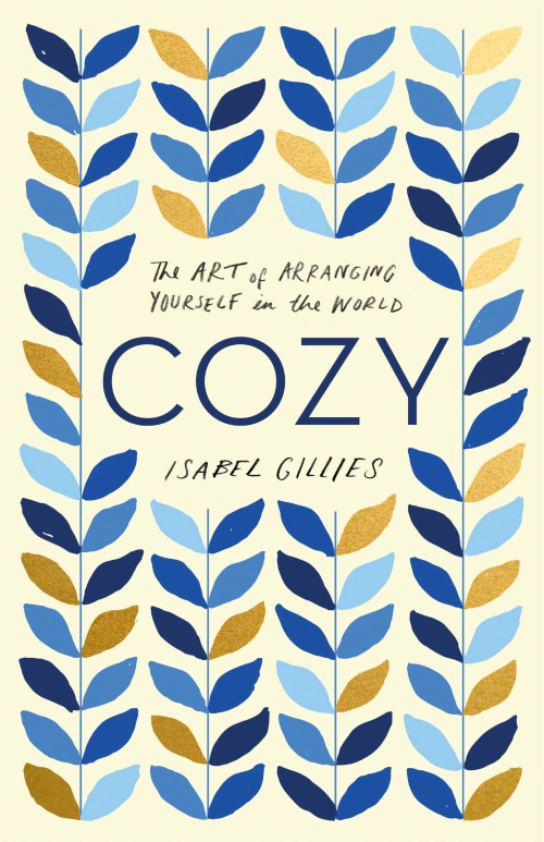 Cozy book cover