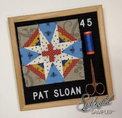 Pat Sloan Splendid Sampler 2 Cheryl Brickey