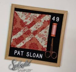 Pat Sloan Splendid Sampler 2 Mary Honaker