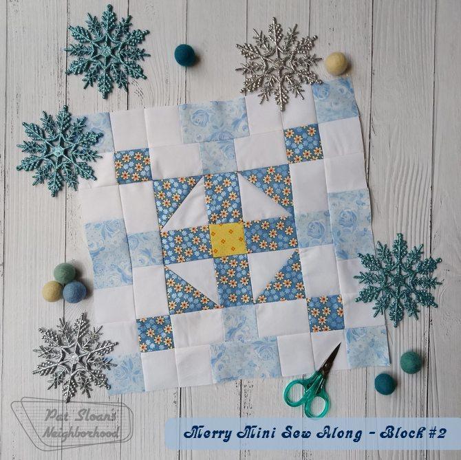 Pat Sloan Christmas Mini Block 2