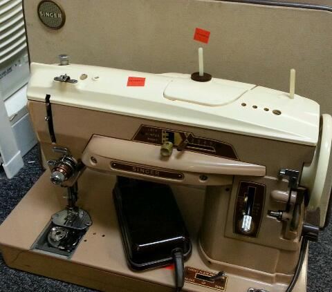 Pat sloan sewing machine singer