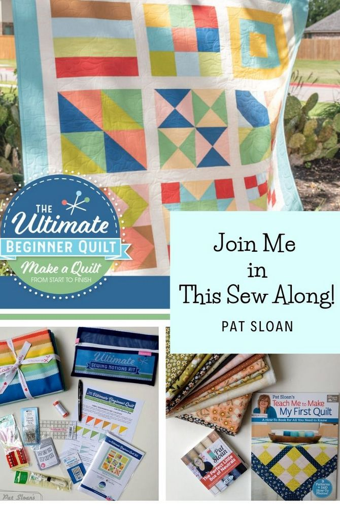 Ultimate Beginner's Quilt Sew Along