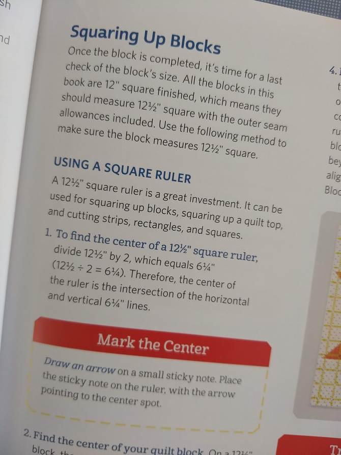 Pat Sloan ultimate beginner block 3 tip 9