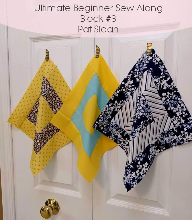 Pat Sloan ultimate beginner block 3 banner