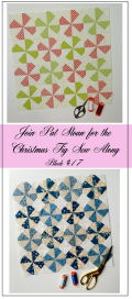 Pat Sloan Figtree Christmas sew along block 17