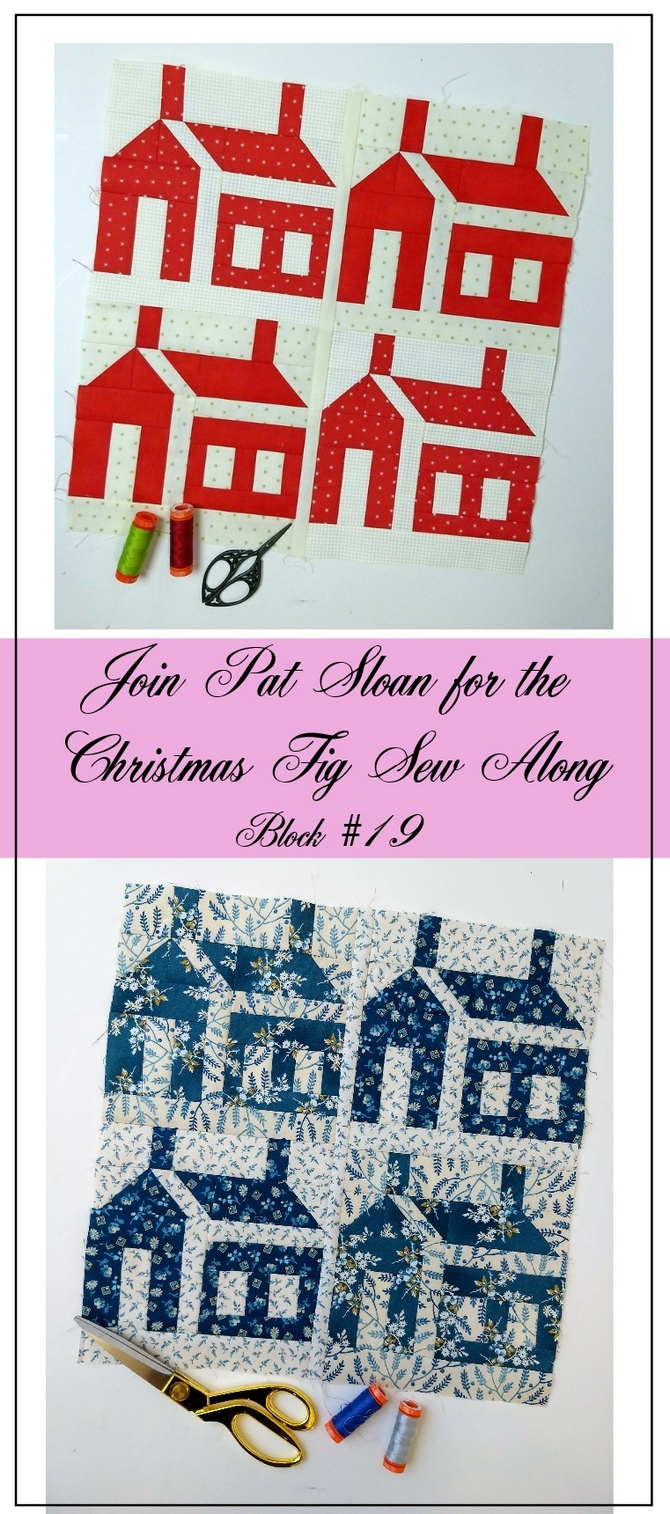 Pat Sloan Figtree Christmas sew along block 19