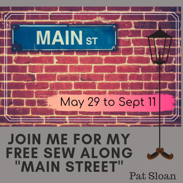 Pat Sloan Main Street button
