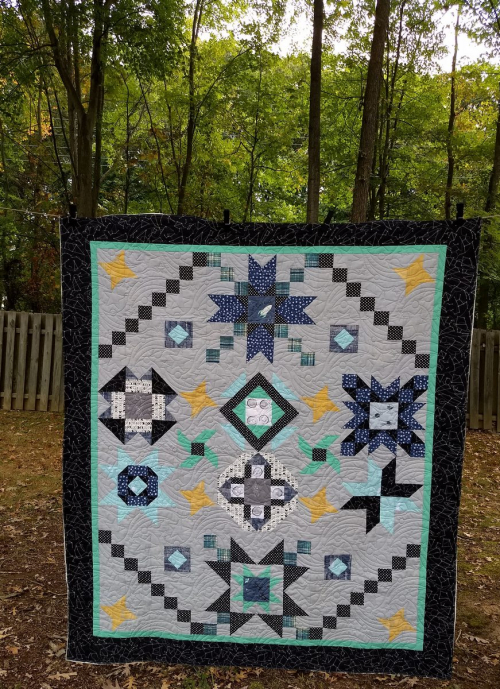 Pat sloan out of this world full quilt