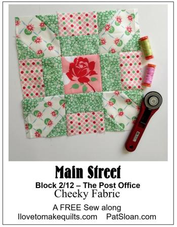 Pat Sloan Block 2 Main Street banner C