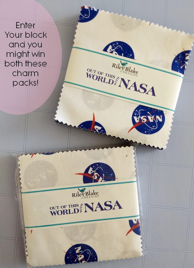 Pat Sloan nasa charm packs