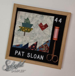 Pat Sloan Splendid Sampler 2 Kitty Wilkin