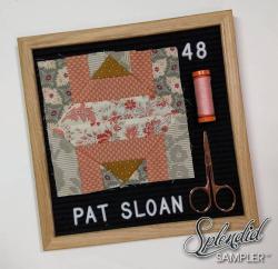 Pat Sloan Splendid Sampler 2 Katarina Roccella