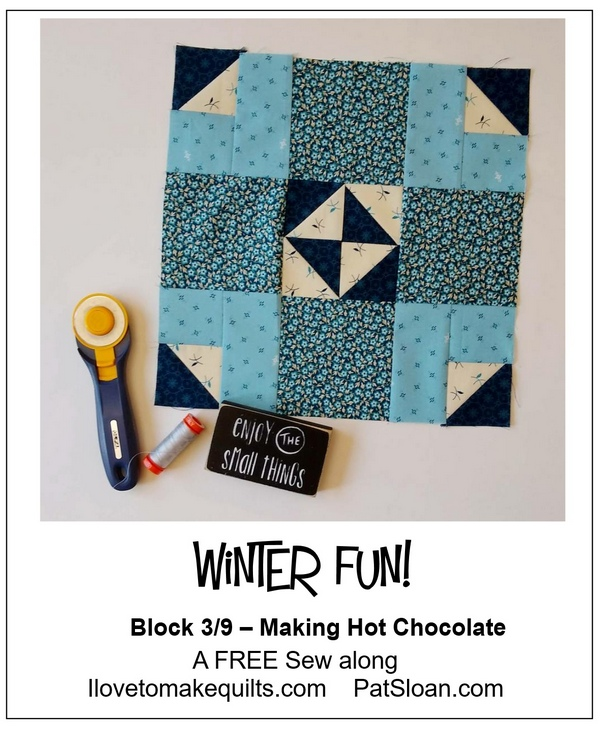 Pat Sloan Block 3 Winter Fun banner