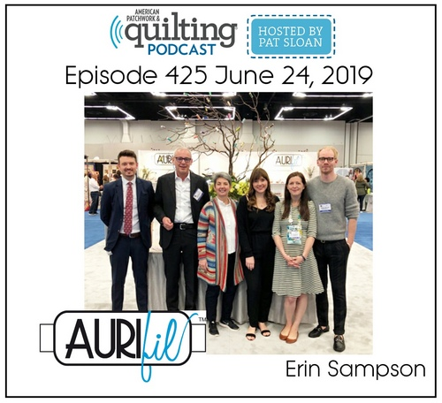 American Patchwork Quilting Pocast episode 425 Erin Sampson