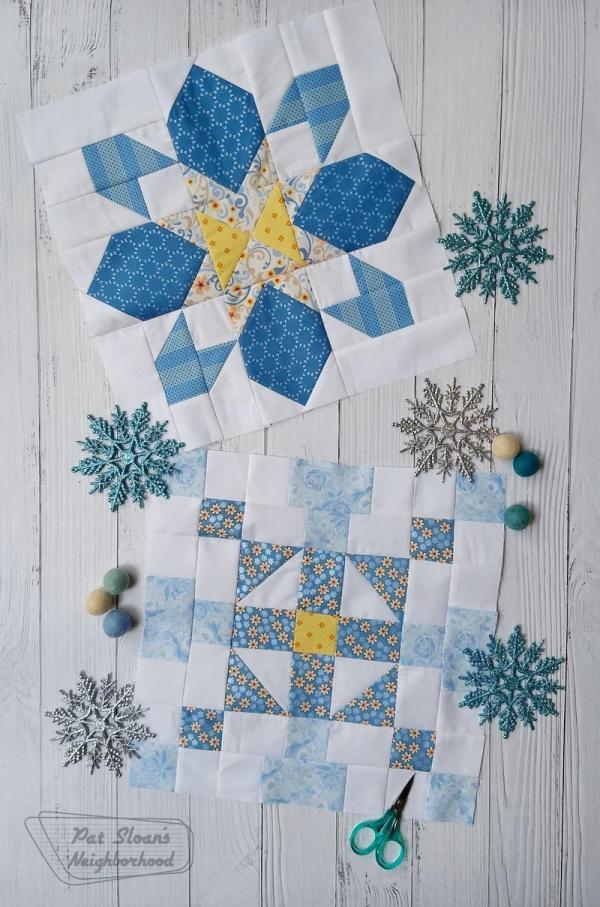 Free Merry Mini Sew Along Block 2 Pat Sloan S Blog