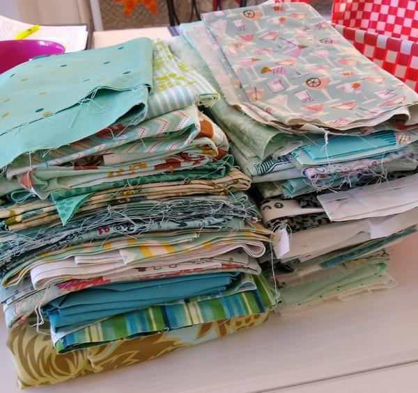 Pat sloan fabric sorting vid 1 pic 2