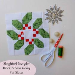 Pat Sloan Sleigh Bell block 5b