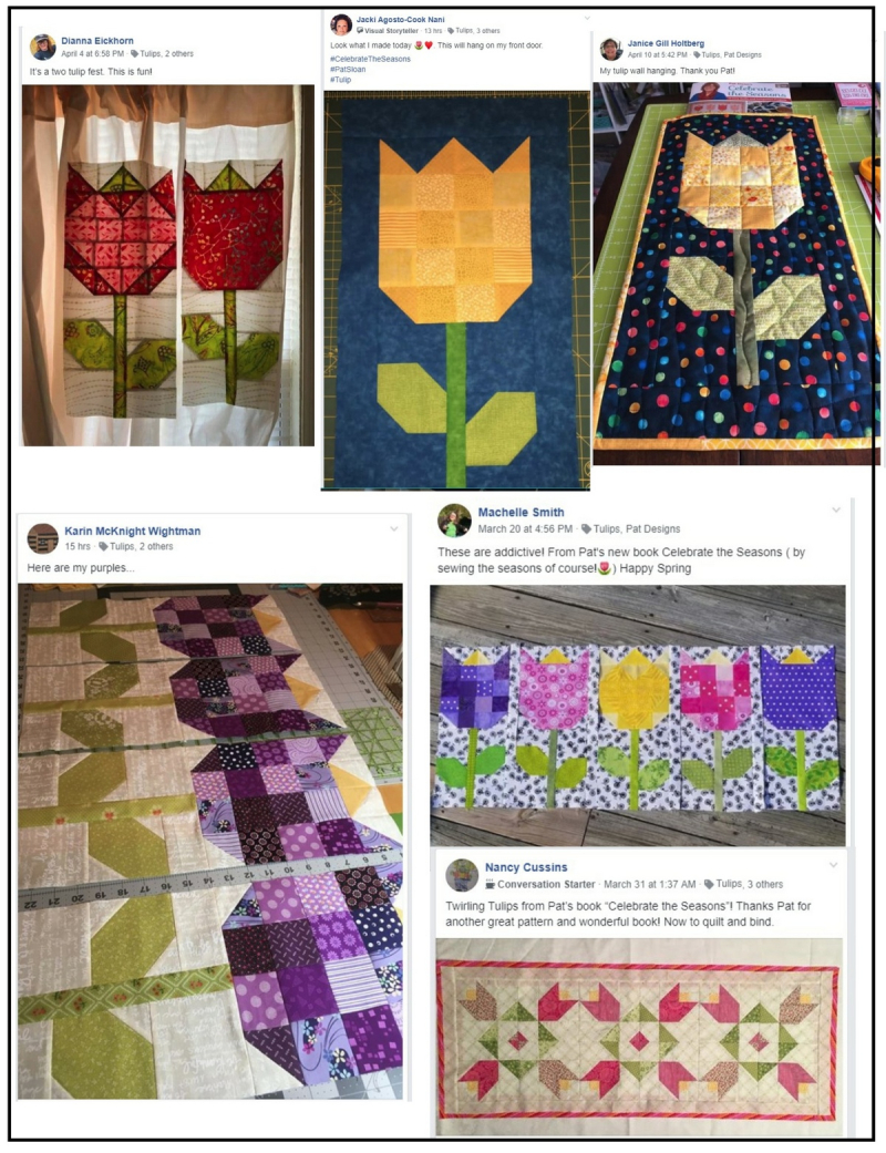Pat Sloan Tulipfest Sew along by you