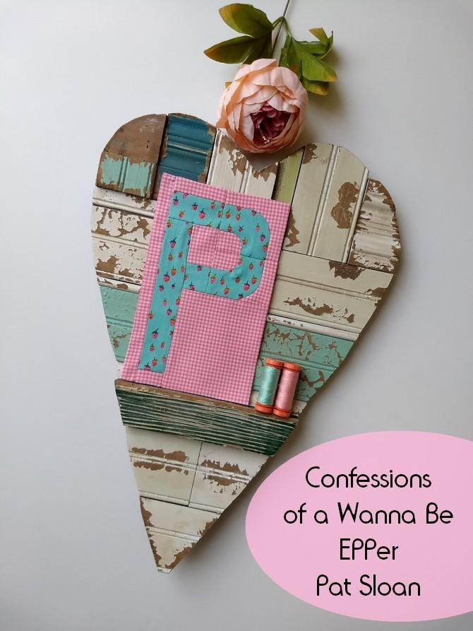 Pat Sloan EEP letter P confession